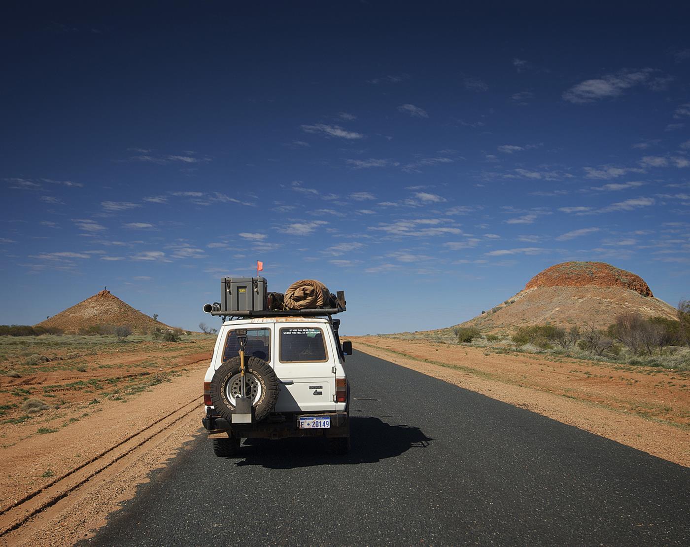 tripping Western Australia